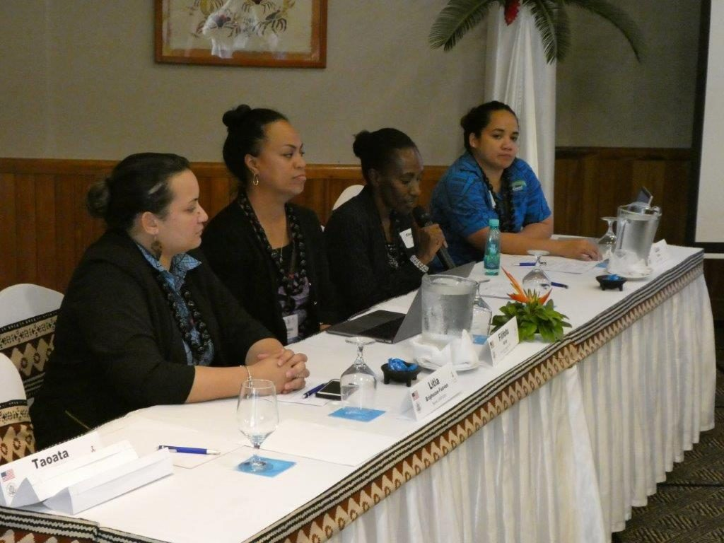 """Panel discussion on """"Alumna Reflections: Pacific Women in the Workplace – Local & Regional Challenges & Experiences."""""""