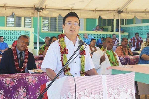 Japanese Ambassador to Samoa Maugaoleatuolo Shynia Aoki