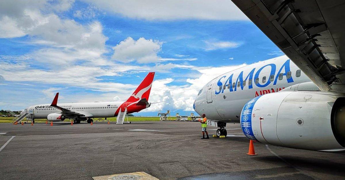 Samoa Airways Jet 0peration Back to Normal Schedule - Samoa