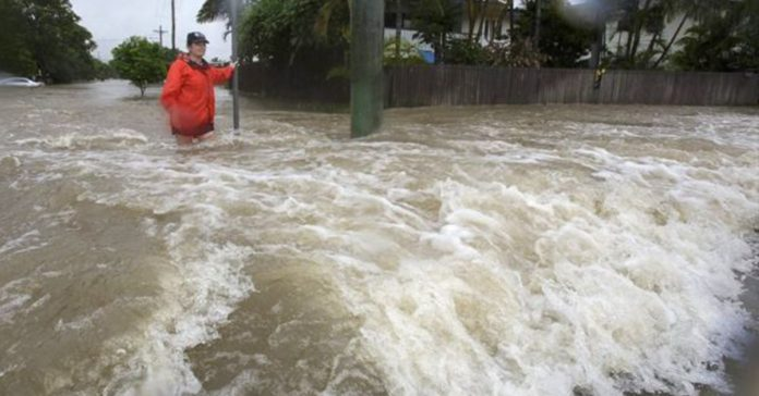 EPA Townsville has received more than a metre of rain in just a week