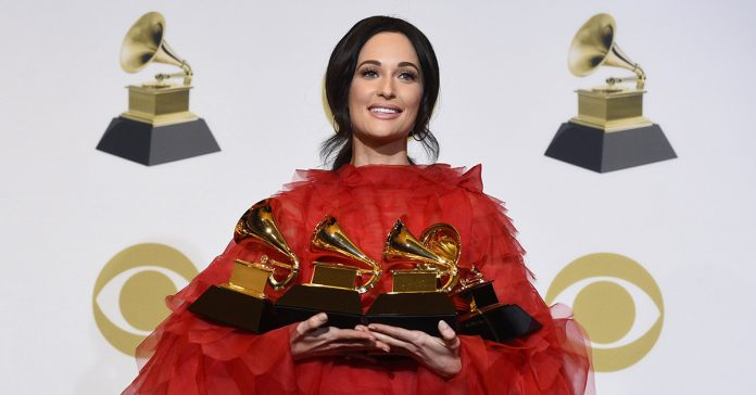 Kacey Musgraves won three Grammys on Sunday night.Chris Pizzello / Invision/AP
