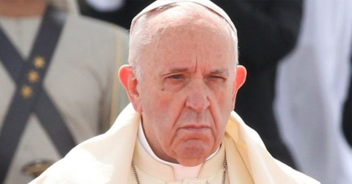 Pope Francis made the admission while visiting the Middle East