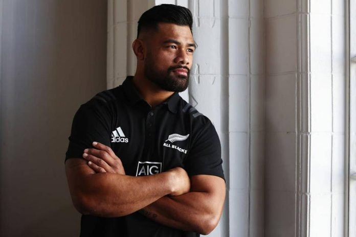 Jordan Taufua was named in an All Blacks squad but has yet to make his debut due to injury. Photo / Getty