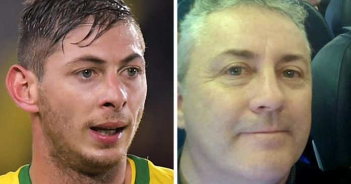 GETTY IMAGES/DAVID IBBOTSON Emiliano Sala (left) was on board a plane being flown by pilot David Ibbotson