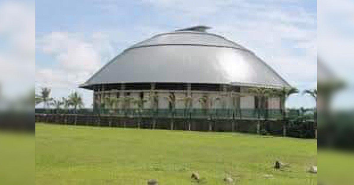 Samoa Parliament House Co-funded by Australia and Samoa