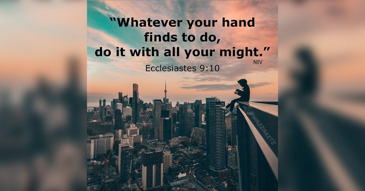 Ecclesiastes 9:10 - Samoa Global News