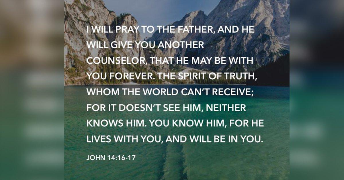 John 14:16-17 - Samoa Global News