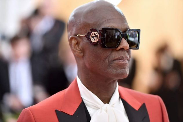 Dapper Dan, a designer responsible for a number of other stars' Met Gala outfits, arrived himself in custom Gucci.Theo Wargo/WireImage/Getty Images
