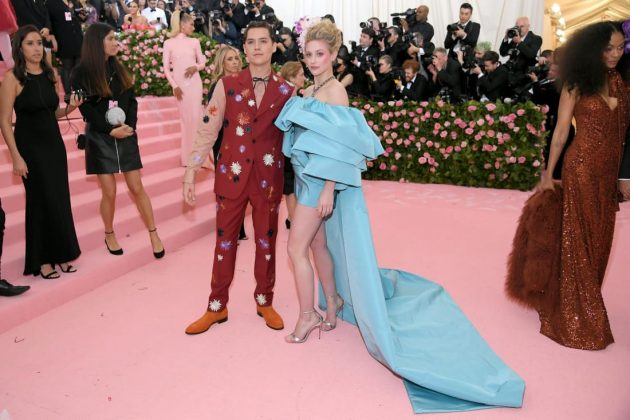 """Riverdale"" stars, and real-life couple, Cole Sprouse and Lili Reinhart appeared together at the Met Gala's red carpet for the second consecutive year.Neilson Barnard/Getty Images"