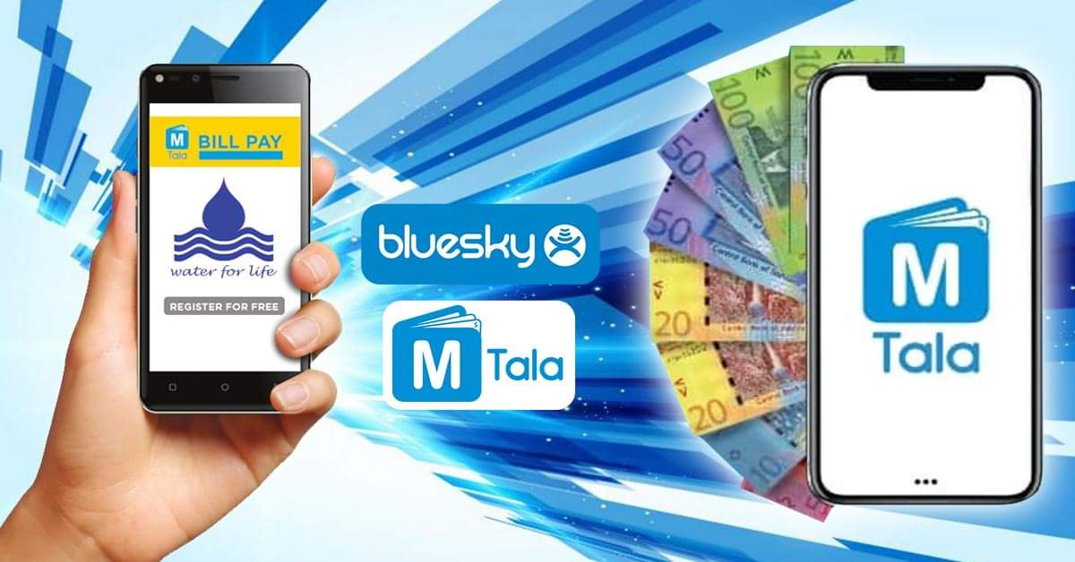 Pay Your SWA Water Bill with Bluesky's MTala - Convenient