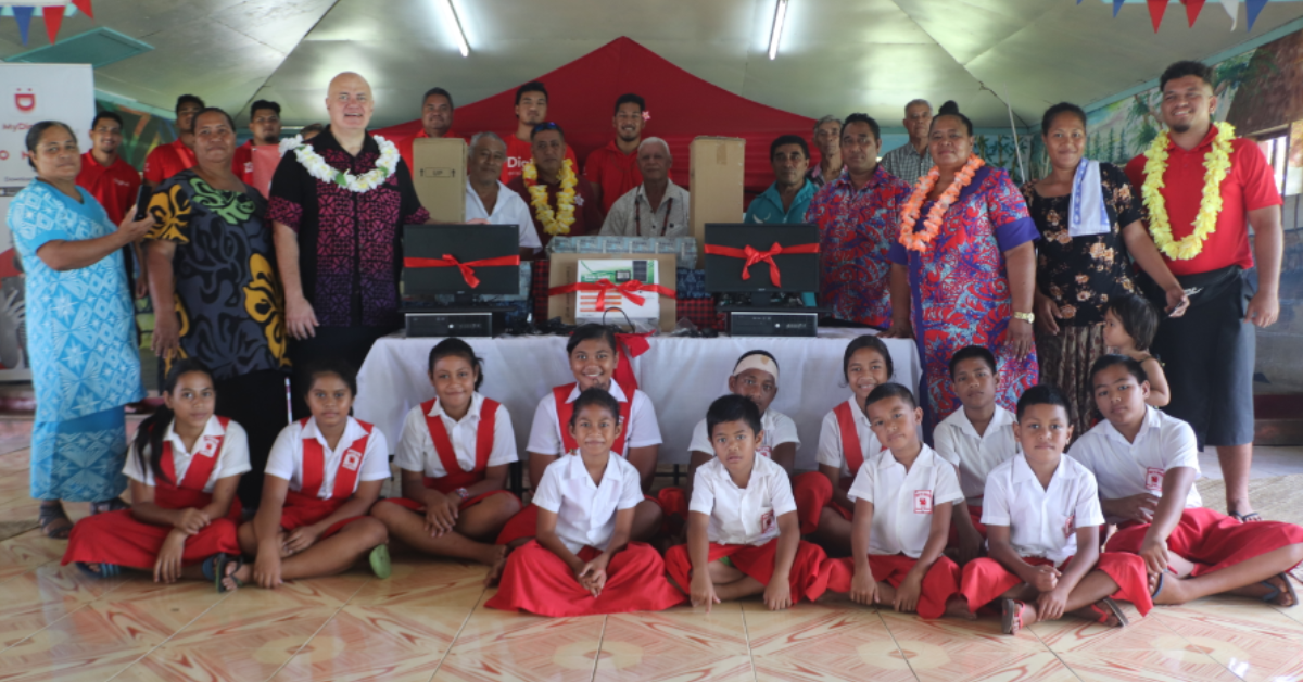 Digicel's Go Big Grant Blesses Communities in Time for Christmas – Samoa Global News